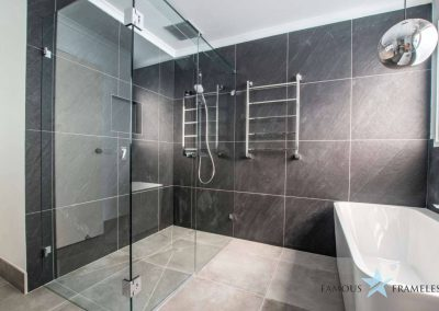 Famous Frameless Bathroom Frameless Shower Screen Installation 10 Melbourne
