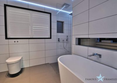 Famous Frameless Bathroom Frameless Shower Screen Installation 8 Melbourne