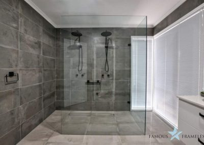 Bathroom Frameless Shower Screen Installation 9 Famous Frameless Melbourne